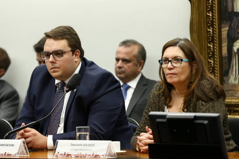 76997aaec Sessão da CCJ da Câmara em março presidida pelo deputado Felipe  Francischini (PSL-PR