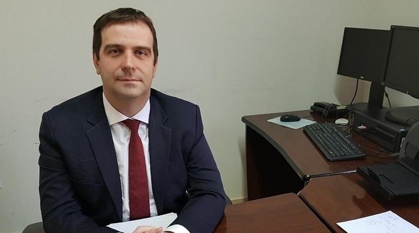 Marcelo Linhares, promotor de justiça em Juína
