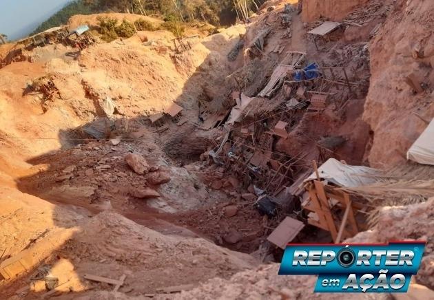 Foto do local após o acidente - Repórter em Ação e Top News de Aripuanã