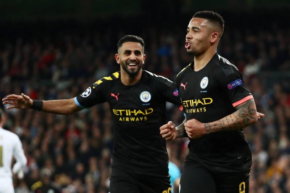 Manchester City venceu o Real Madrid na ida e tentará confirmar a eliminação do maior campeão da Champions - Sergio Perez - 26.fev.2020/Reuters